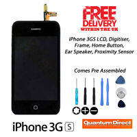 iPhone 3GS LCD & Digitizer Complete Assembly inc Frame, Ear Piece, Home Button