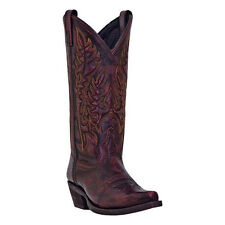 Laredo 51085 Women's Red Sanded Tremaine Western Boots