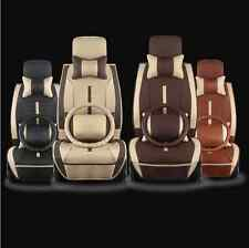 New - noble luxury PU leather car seat cushion + Steering wheel cover