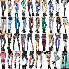 2015 Gothic Lady 3D Print Skinny Galaxy HOT Slim Leggings Pencil Pants Jeggings