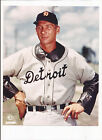 Hal Newhouser Unsigned 8 X 10 Photo Detroit Tigers