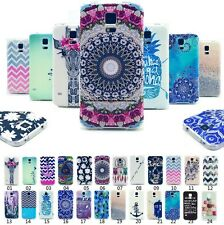 For Samsung Classical Cute Painted Soft TPU Silicone Rubber Skin Case Cover Back