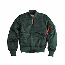 ALPHA INDUSTRIES MA-1 VF 59 | Dark Petrol (191118) Bomberjacke Fliegerjacke