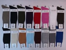 Men's Dress Socks Stacy Adams Solid Plain 24 Colors Size 6-12