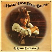 "KEITH EMERSON honky tonk train blues/barrel house shakedown K13513 7"" PS VG/EX"