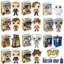 New Doctor Who TARDIS 4th 10th 11th 12th Dalek Adipose Pop! Figure Official