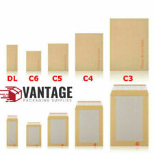 """Hard Board Backed Manilla Envelopes - 130GSM Paper  """"Please Do Not Bend"""""""