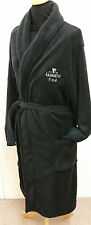 PERSONALISED GUINNESS MENS GENTS BLACK  BATH ROBE DRESSING GOWN   SM - XXXL