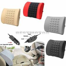 Auto Back Lumbar Posture Support Electrical Massage Cushion Pillow Seat Comfort