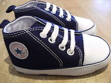 Converse All Star Baby Booties Shoes Mix Sizes Navy  NEW