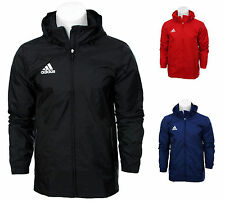 Adidas Core Zip Rain Jacket Waterproof Coat Top Hooded Hoodie Wind Stopper S-XXL