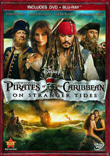 ACTION/ADVENTURE-PIRATES OF THE CARIBBEAN: ON STRANGER TIDES (2PC) DVD NEW