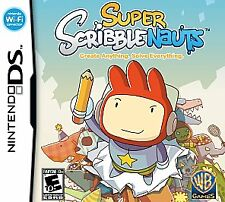 NDS ACTION-SUPER SCRIBBLENAUTS NDS NEW