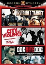 DRAGON DYNASTY TRIPLE FEATURE: INVISIBLE TARGET/THE CITY OF V NEW DVD