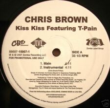 "CHRIS BROWN / T-PAIN ""KISS KISS"" 2007 *MINT* 12"""