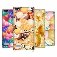 HEAD CASE DESIGNS SEASHELLS COLLECTION SOFT GEL CASE FOR BLACKBERRY PHONES