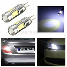 2x HP24W G4 6000K 13mm DRL High Power Decoding SMD LED Bulbs For Citroen Peugeot