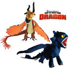 2 Pcs How To Train Your Dragon 2 Plush Toy Night Fury & Monstrous Nightmare Doll