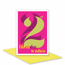 22nd Birthday Wishes card for her 22 Happy birthday card for girl woman sister