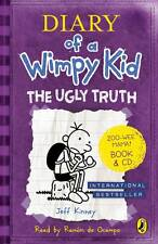 Diary of a Wimpy Kid - The Ugly Truth by Jeff Kinney Paperback and audio CD