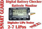 LiPo Battery Battery Checker Digital 2-7 LIPO SMART GUARD - Batterie Tester