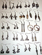 BUY 2 GET 1  FREE HUGE CHOICE OF SILVER HAND MADE EARRINGS FAST UK DELIVERY