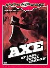 NEW Axe 1985 Something Weird Video Special Edition Horror DVD Rare OOP Cult Gore
