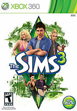 The Sims 3 (Microsoft Xbox 360, Brand New Factory Sealed