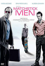 Matchstick Men (DVD, 2004, Full Frame)  NEW