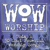 WOW Worship: Blue (2 Discs, Marantha) Ancient of Days, I Love You Lord, Jesus