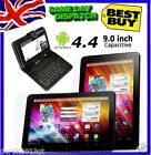 "9"" Inch WIFI Android 4.4 Quad Core A33 Dual Camera TABLET PC Keyboard HDMI NEW"