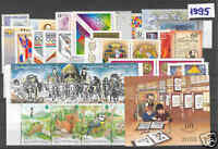 HUNGARY 1995. Complete year unit, 42 stamps 1 S/S MNH