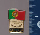 PORTUGAL 1986 Moscow Goodwill Games FLAG LAPEL HAT PIN