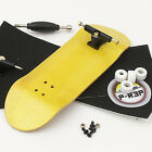 P-Rep WIDE 32mm Basic Complete Wooden Fingerboard -Yellow with Bearings and Nuts