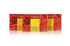 Vaadi Herbals Luxurious Saffron Soap, Skin Whitening Therapy- 75g ( Pack Of 3 )