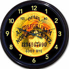 OUIJA BOARD WALL CLOCK - GYPSY WITCH PARANORMAL GHOST HUNTING ORACLE WICCA 10""