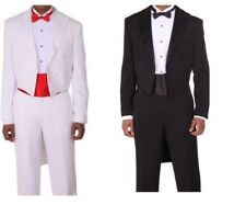 New Tuxedo suit with Tail, black by Milano Moda T505