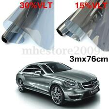Tint Film 15% 30% VLT 3m x 76cm Feet Roll Car Auto Home Office Window Tinting
