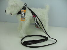 Rok Strap Padded Dog Collar & 3 in 1 Lead Stretch Reflective Dog Leads & Collars