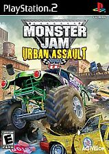 Monster Jam: Urban Assault (Sony PlayStation 2, 2008) Brand New