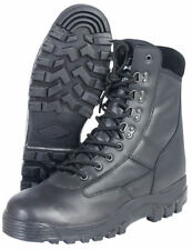 All Leather Patrol Boot Army Boots Black Combat Mil-Com Lace Up Thinsulate Warm