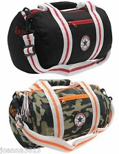 Converse Junior Allstar Barrel Holdall Sport Gym Bag. Black or Camo