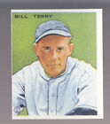 BILL TERRY 1983 REPRINT OF 1933 GOUDEY CARD by RENATA GALASSO #125