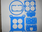 Holley Vacuum Secondary Blue Gasket Kit For 550-600 CFM Carbs Model 4160