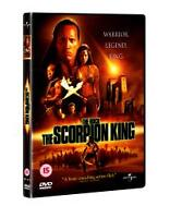 THE SCORPION KING (R2 DVD NEW NOT SEALED)