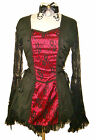 Steampunk Victorian Raven dress RB2011