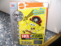 SPONGEBOB SQUAREPANTS DVD TV GAME FACT OR FISHY BRAND NEW  VERY RARE