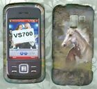 horse rubberized LG Enlighten VS700 Verizon cover snap on hard Case