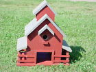 Midwestern Barn Birdhouse PLANS & INSTRUCTIONS US-Southeast