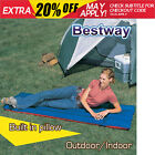 Bestway Inflatable Camping Air Bed Built in pillow Single Mattress Beach